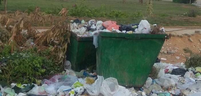 بالصور.. تفاقم أزمة القمامة بالتجمع الأول في القاهرة الجديدة 📷