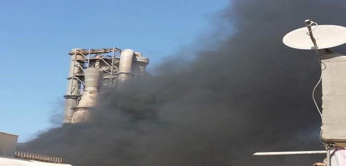 بالصور.. مصنع أسمنت يعمل بالفحم.. ويهدد حياة مواطني وادي القمر بالإسكندرية 📷