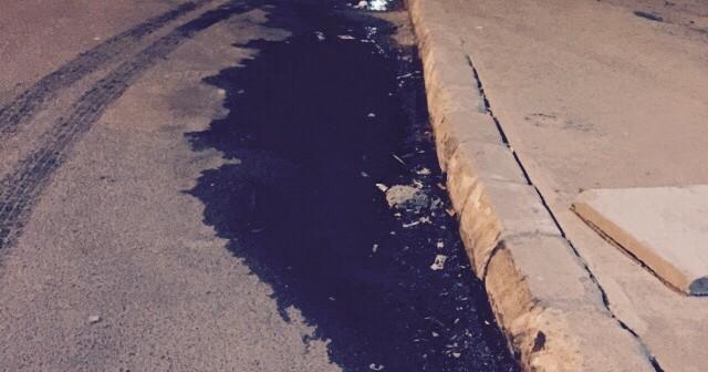 📷 طفح الصرف الصحي في أحد أحياء شرم الشيخ