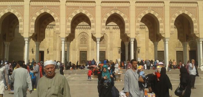 📷 رغم ارتفاع درجات الحرارة.. زحام بالسيد البدوى في ثاني أيام العيد