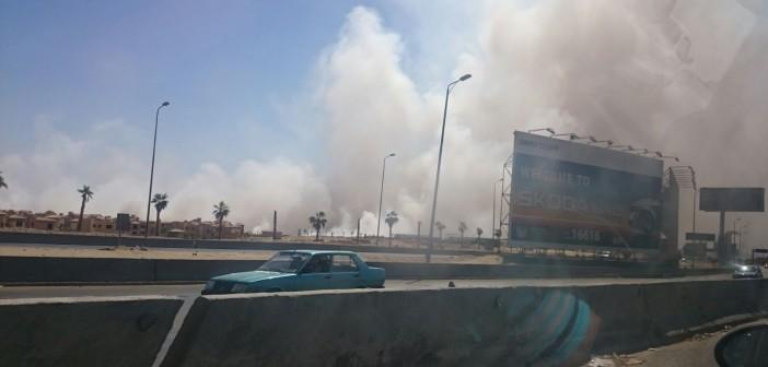 صور.. تصاعد سحب الدخان والأتربة نتيجة تفجير جبال قرب كارفور المعادي 📷