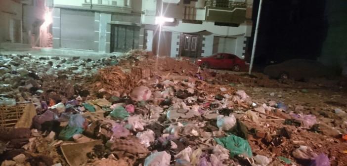 بالصور.. مواطنون يشكون تراكم المخلفات بدمياط: «فين حقنا في نظافة بلدنا» 📷