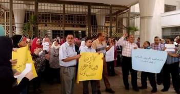 بالصور.. وقفات احتجاجية أمام مصالح الضرائب بالمحافظات قبل أيام من مليونية 12 سبتمبر ضد «الخدمة المدنية»