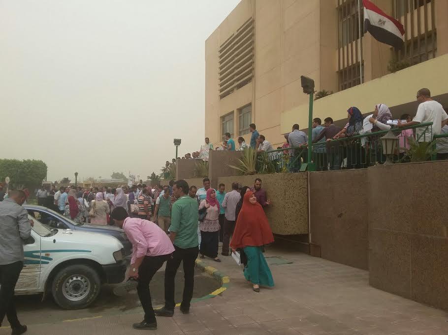 بالصور.. وقفة احتجاجية لمهندسي الري أمام وزارتهم للمطالبة بتحسين أجورهم