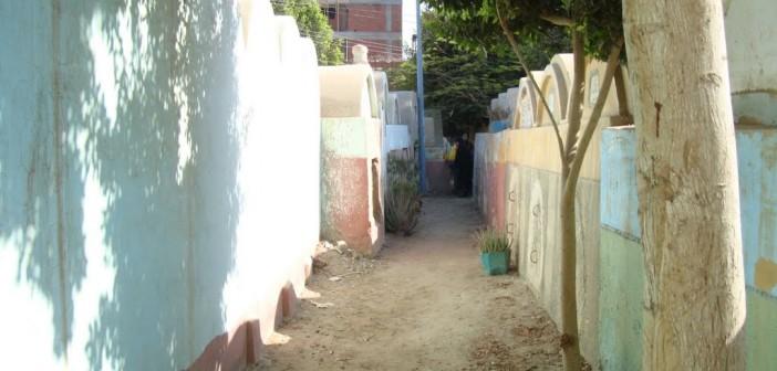 تعديات على مقابر نجع العجمي بإحدى قرى قنا