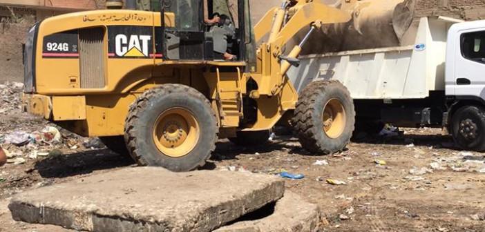 أزمة القمامة لا تنتهي في «أم بيومي» بشبرا الخيمة