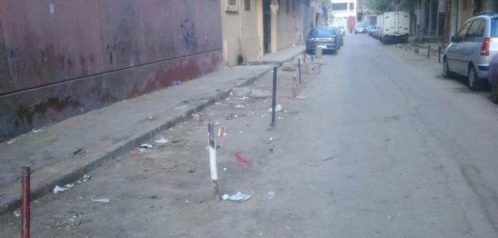 بالصور.. «دق الحديد» بشوارع الظاهر يعرقل حركة سير المواطنين
