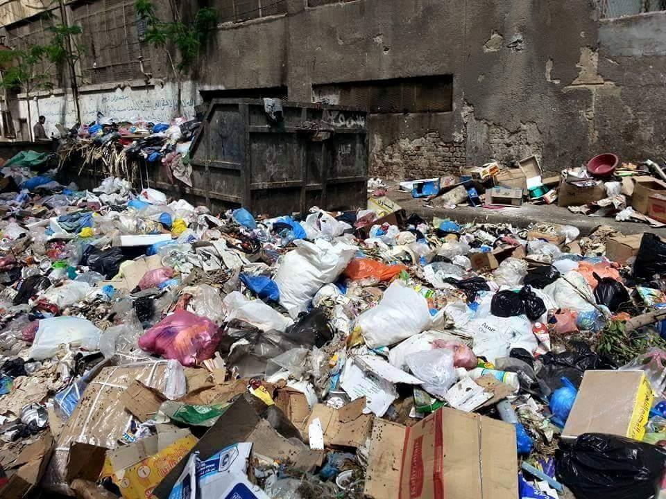بالصور.. تفاقم أزمة القمامة في شارعي 30 و45 بالعصافرة في الإسكندرية