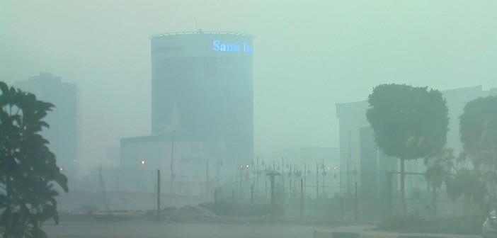 بالصور.. مواطنون يشكون من دخان حرق القمامة الكثيف في القطامية 📷