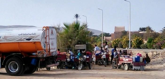 🔴 بالصور.. غضب في القصيربالبحر الأحمر لانقطاع المياه.. وخسائر تهدد السياحة 📷