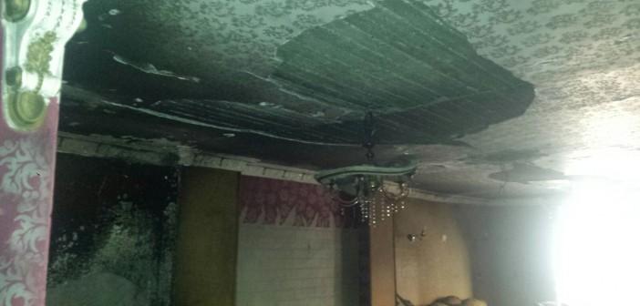 بالصور.. انفجار شديد يدمر شقة بجسر السويس بسبب وصلات الغاز 📷