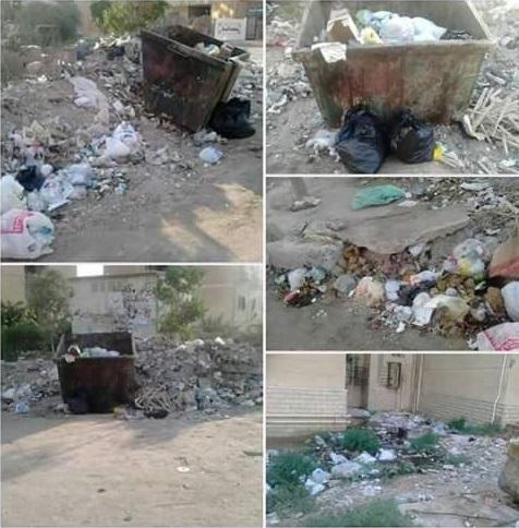 بالصور.. انتشار القمامة وورش الحدادة في شوارع التجمع الأول