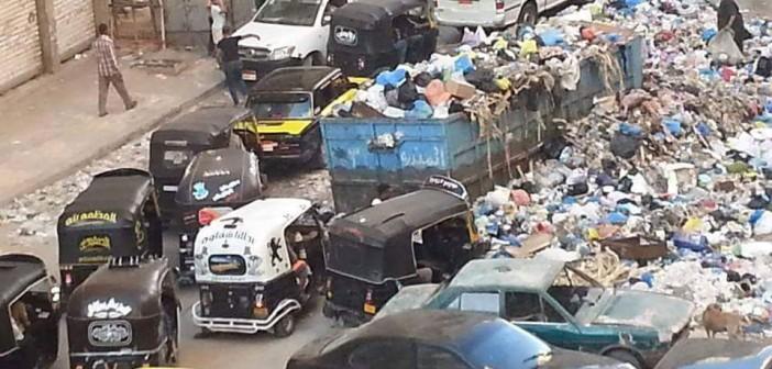 بالصور.. تفاقم أزمة القمامة بشارعي 30 و45 بالعصافرة في الإسكندرية  📷