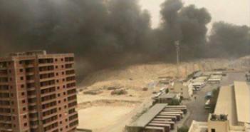 بالصور.. مواطنون يشكون من دخان حرق القمامة الكثيف في القطامية