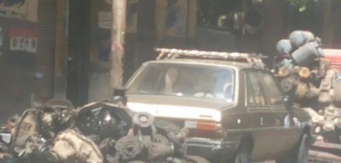 مطالب بإزالة إشغالات الباعة والخردة في أحد شوارع شبرا الخيمة
