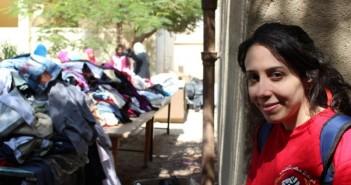 معرض ملابس لحركة مصر بتاعتي في بني سويف
