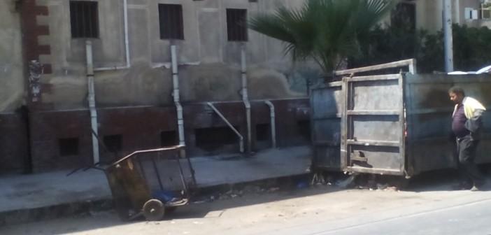 📷 روائح كريهة وقمامة ترفع معاناة مرضى التأمين الصحي بالإسكندرية