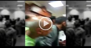 خناقة بين أمناء شرطة ومحامين في محكمة بالإسكندرية