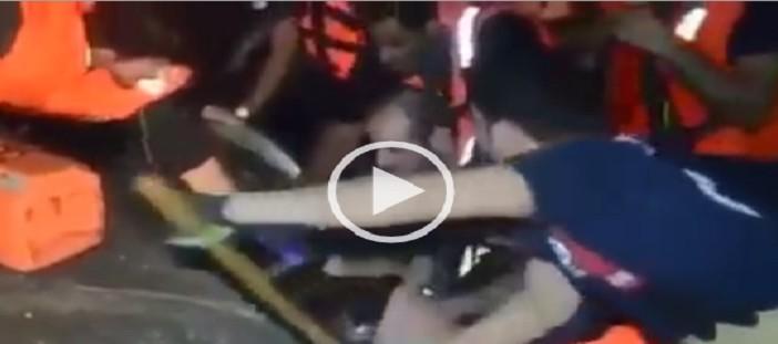 بالفيديو.. إنقاذ مصري من الموت بالكويت بعدما «حُشر» في ماسورة صرف ▶