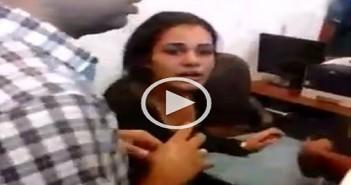 ضرب طالبة بجامعة دمنهور