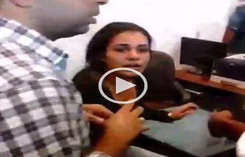بالفيديو.. اتهامات لأمن «تجارة» جامعة دمنهور بضرب طالبة.. والتحرش بها ▶