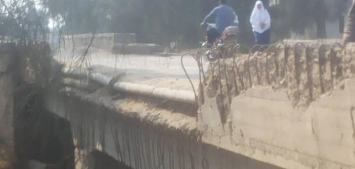 كارثة تنتظر كوبري بالشرقية على طريق مؤدي إلى بور سعيد 📷