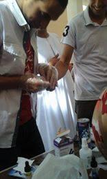 حملة للتبرع بالدم في إحدى قرى سوهاج لصالح مرضى الثلاسيميا