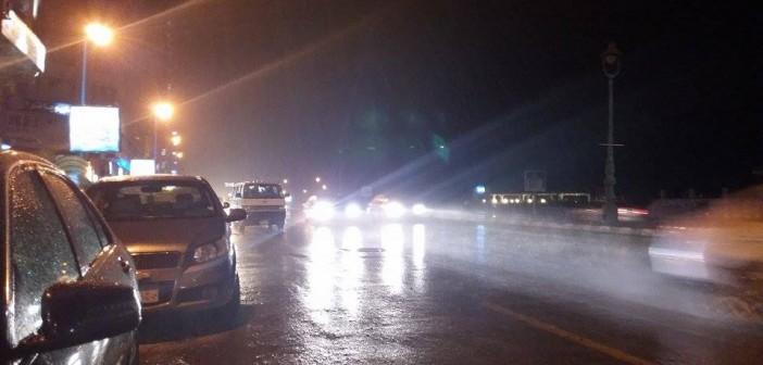 📷 منذ قليل.. سقوط أمطار خفيفة في الإسكندرية (صور)