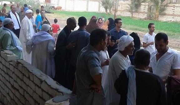 انتظام اللجان الانتخابية بـ«زاوية الناوية» في بني سويف باليوم الأول للتصويت