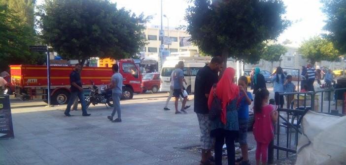 بالصور.. دعاية انتخابية قرب لجان محرم بك في الإسكندرية (شاركنا تغطيتك 📢)