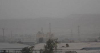 بالصور.. عاصفة ترابية مفاجئة تضرب القاهرة وسط انخفاض على درجات الحرارة