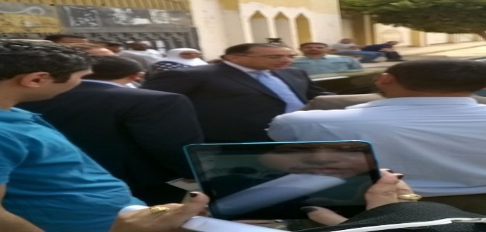 بالصور.. وزير الإسكان يدلي بصوته بإحدى لجان الشيخ زايد (شاركنا صورك وتغطيتك 📢)