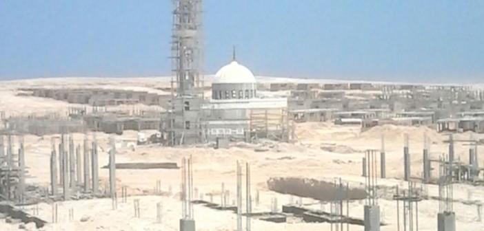 شاهد.. الصور الأولى لبدء إقامة مدينة عمال المشروع النووي في الضبعة 📷
