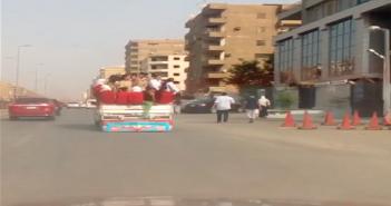 توصيل طلاب المدارس في مدينة نصر بالنصف نقل يعرض حياتهم للخطر