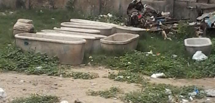 «الآثار» تهمل أرضًا تابعة لها في سيدي بشر