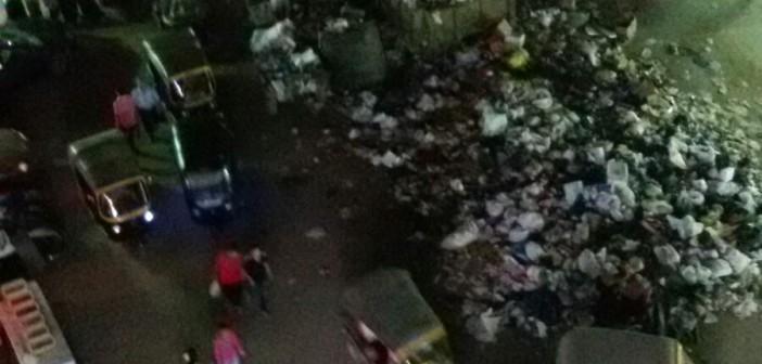 📷 تراكم القمامة في أحد شوارع الطالبية بالجيزة
