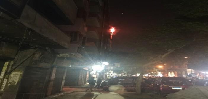 🔥🔥بالصور والفيديو.. حريق بأحد فنادق وسط القاهرة.. وشاهد عيان: دام 40 دقيقة 📷▶