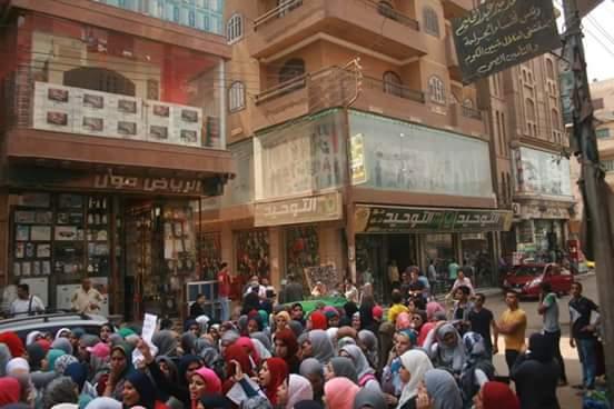 غضب طلاب الثانوية يمتد للمنوفية.. وتحضيرات لمظاهرة كبرى غدًا ضد «العشر درجات»