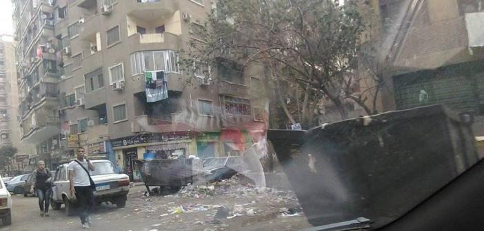 إهمال شارع النعام في عين شمس.. قمامة وطرق مُكسرة 📷