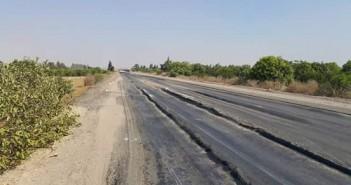 بالصور.. طريق المنيا ـ القاهرة الصحراوي.. مصيدة الموت اليومي