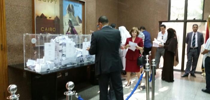 صور.. أجواء الانتخابات في دبي بثاني أيام تصويت المصريين بالخارج (شاركنا صورك 📢)
