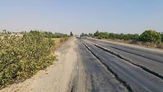 بالصور.. طريق المنيا ـ القاهرة الصحراوي.. مصيدة الموت اليومي 📷