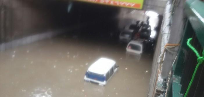 ⛅ 18 صورة جديدة لنفق جمال عبدالناصر بالإسكندرية.. ومحاولة إنقاذ السيارات 📷