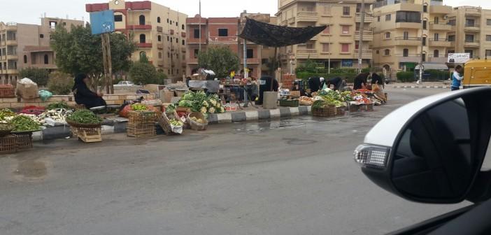 بالصور.. مواطنون في «العبور» يشكون تردي الخدمات وانتشار الباعة الجائلين 📷