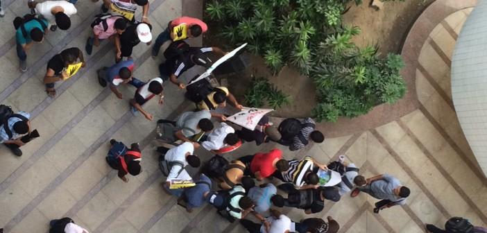 مظاهرة لطلاب «الإخوان» في المعهد التكنولوجي بالعاشر من رمضان 📷