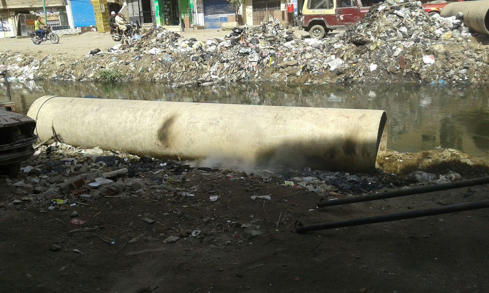 بالصور.. مصرف غير مغطى في ناهيا يهدد حياة المواطنين