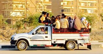 هذا الصباح.. «النصف نقل» وسيلة توصيل طلاب مدارس في القاهرة