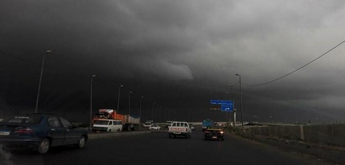⛅ بالصور.. الإسكندرية قبل لحظات من موجة الأمطار الغزيرة 📷