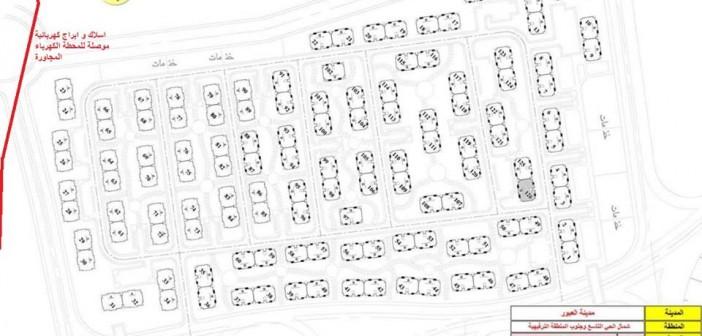 تلاصق عمارات مشروع «دار مصر» مع خطوط الضغط العالي