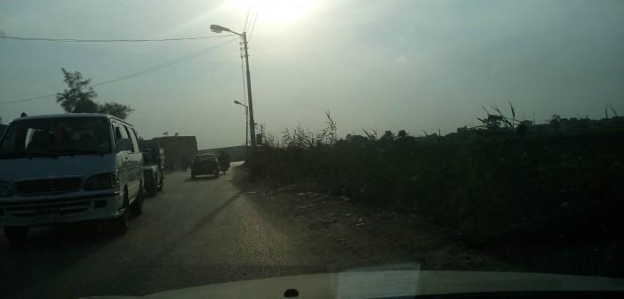 بالصور.. أعمال حفر على طريق قرية دسيا بالفيوم تُسبب حوادث يومية 📷